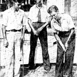 Miniature golf players, circa 1930.  Photo courtesy of the San Antonio Light.